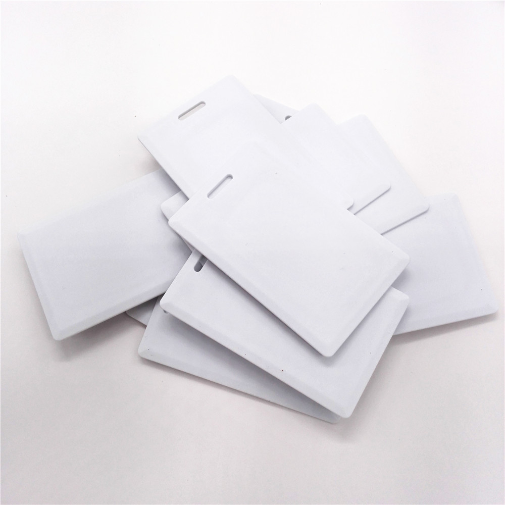 10pcs/lot Thick CARD T5557/5567/5577 Reaction ID 125KHZ RFID Card Timecard Access Control Card Enterprise Card System