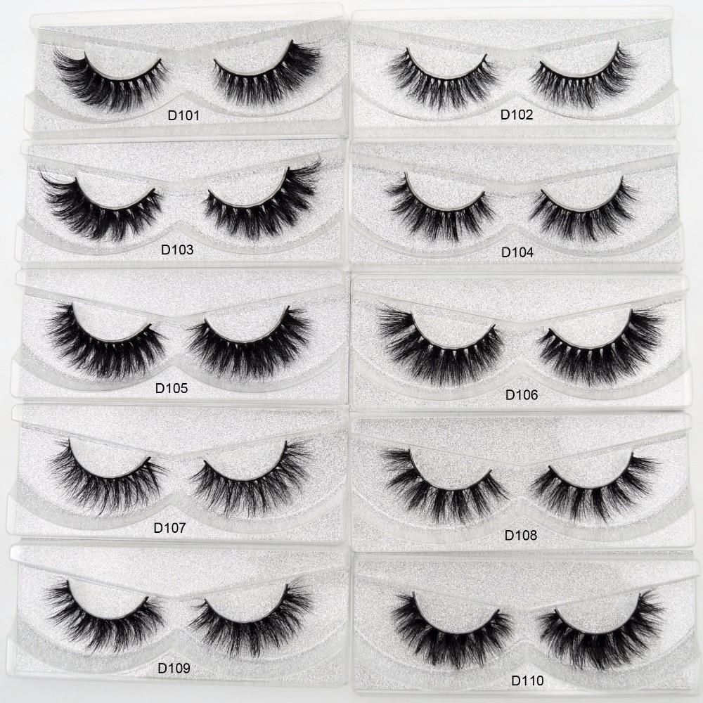 Image 2 - Free DHL 50 pairs Visofree Eyelashes 3D Mink Lashes Handmade Mink Dramatic Lashes 48styles cruelty free reusable lashes wholsale-in False Eyelashes from Beauty & Health