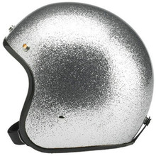 silver casco de moto Motorcycle Helmet Retro Vintage Motorbike Open Face Half Helmet Cruiser Touring Chopper Biker Cafe Racer недорого