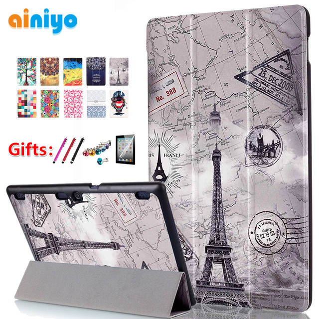 Ultra Slim Stand Case For Lenovo Tab2 A10-70 Tab2 A10-30 Tab3 10 Plus Tab3 10 Business TB-X103F TB2-X30F TB3-X70F Tablet +gifts