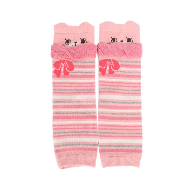 Fashion Kids Baby Leg Warmers Kneepads Warm Cotton 1 Pairs Cute Bear
