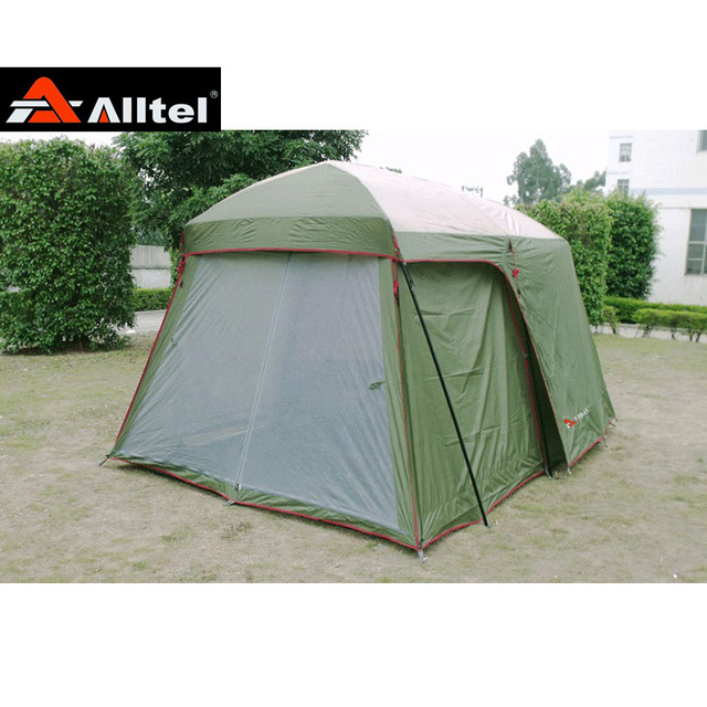 Hot sale outdoor 5-8 persons beach camping tent anti/proof wind/rain UV/waterproof 1room 1hall for sale/on sale
