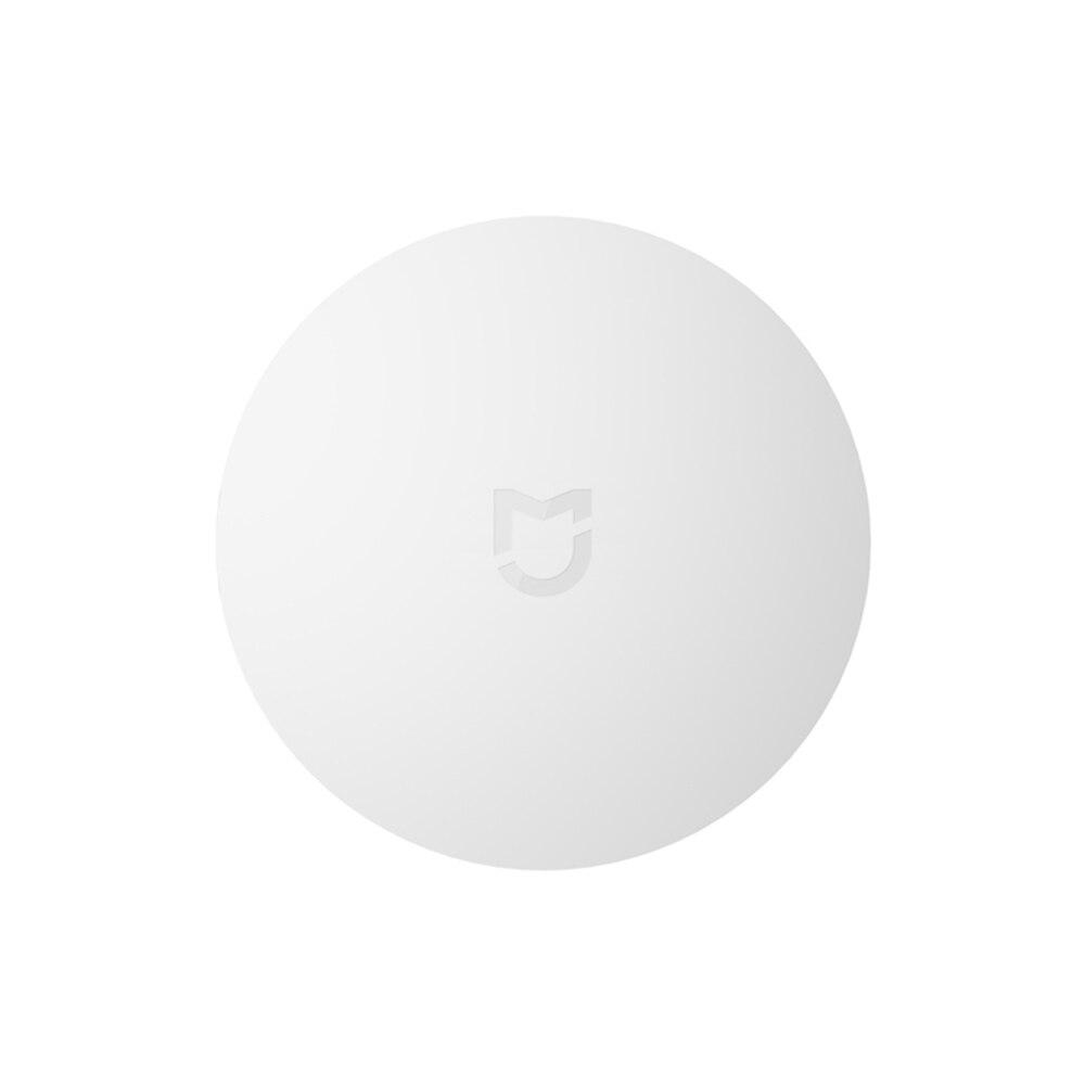 2018 xiaomi conmutador inalámbrico inteligente para xiaomi inteligente casa centro de Control inteligente multifunción blanco interruptor en caja