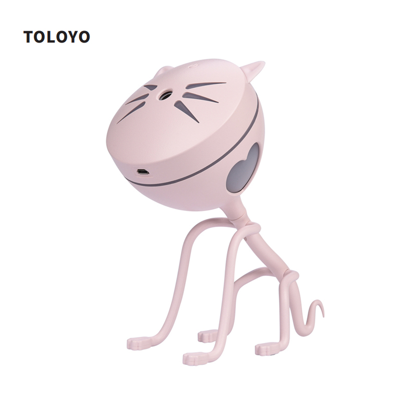 TOLOYO 150ML USB Humidifier Essential Oil Diffuser Mini Car Diffuser Humidifier Freshener Air Aromatherapy Diffuser Home Office mini humidifiers portable essential oil diffuser usb port air freshener office home aromatherapy 3 color