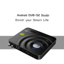 Amlogic8726-MX Android 4.2 Smart TV Caja Android DVB-S2 decodificador Receptor de Satélite apoyo CCCam Newcam H-Compartir XBMC IPTV DVB S2