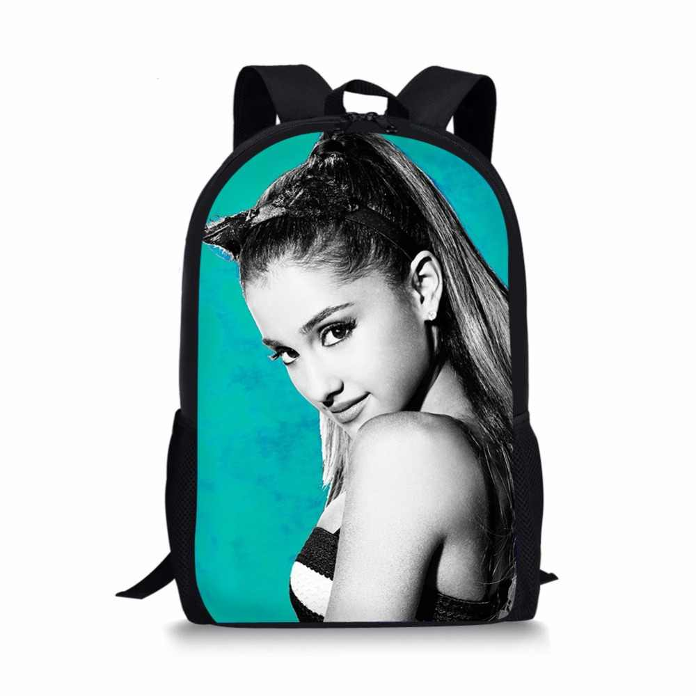 29f03f0ee87f2c ... NEW Star Ariana Grande School bags backpacks schoolbag satchel for  girls boys kids students child mochila ...