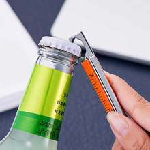 Creative bottle opener pen fashion high quality 6 in 1 metal pen multi-function tool ballpoint pen office meeting capacitor pen quality ferrofluid magnetic display in a bottle creative toy