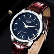 2016 Mode Casual Hommes Montre Nouvelle Marque De Luxe de Haute Qualité En Cuir Étanche Bracelet À Quartz Montres Pour Hommes Horloges Mannen 0509