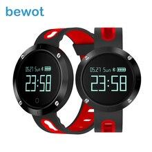 Bewot Smart Band Приборы для измерения артериального давления сердечного ритма Мониторы IP67 Водонепроницаемый напоминание трекер Smart Браслет