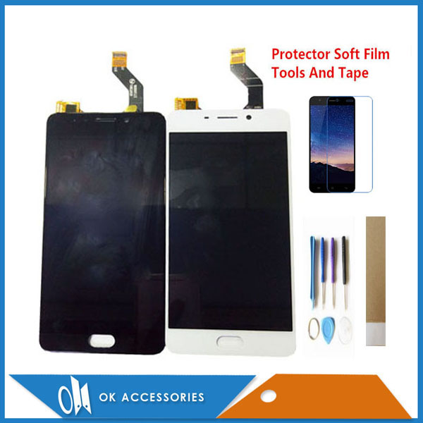 5.5 Inch Black White Color For <font><b>Meizu</b></font> Meilan <font><b>M6</b></font> Note 6 M721H M721Q M721W <font><b>LCD</b></font> Display Touch Screen Digitizer Assembly With Kits image