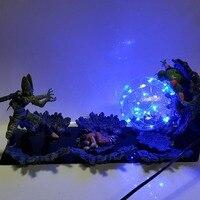 Dragon Ball Z Cell VS Yamcha Piccolo Led Light Lamp Bulb Dragon Ball Super Cell Yamcha Piccolo Led Lights Decoration