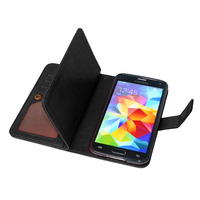 Cover For Samsung Galaxy S5 Case Business Wallet Flip Leather TPU Case For Samsung S5 I9600