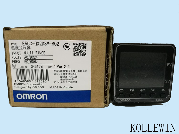 E5CC-RX2DSM-802 OMR Temperature Controller, E5CCRX2DSM802 Sensor NEW in Box, E5CC QX2DSM 802 dtb4848cr delta temperature controller new in box