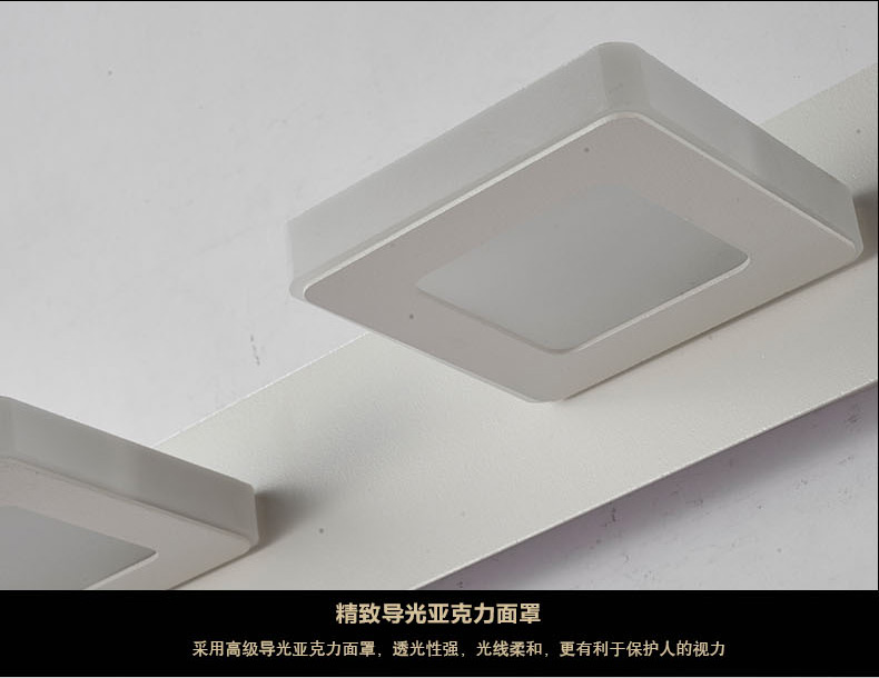 Spiegellamp Voor Badkamer : Drie module 15 w lengte 48 cm led spiegel lamp europa eenvoud