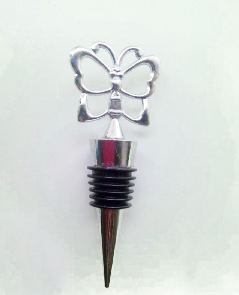 100PCS Butterfly Theme Wine Bottle Stopper Bouchon Vin Wine ...