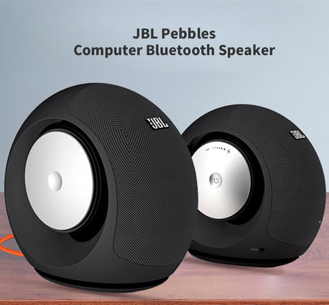 JBL Pebbles Wireless Bluetooth Mini Speaker Stereo Aux Connection Mini Portable Bluetooth Loudspeaker Hands-Free Calls Micro USB