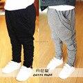 Nueva Moda de Primavera y Otoño de Los Niños Pantalones Casuales Bebé Niño Niña Deportes de Los Niños Pantalones de Harén Pantalones de Los Niños Pantalones Ropa de Niños