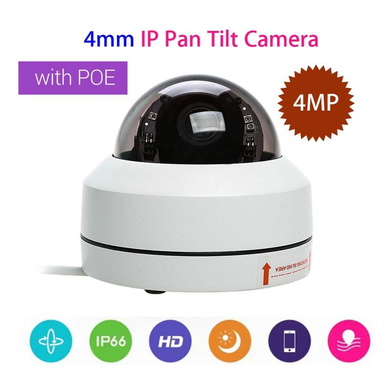 Outdoor Vandal-proof IP66 4MP IP Camera 1080P Security Camera 4mm CCTV Lens PTZ IR Onvif Speed Network PoE 355 degree Pan Tilt цена 2017