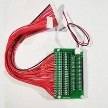 Jk 액티브 밸런서 자동 배터리 차동 전압 수리 블루투스 이퀄라이저 전송 xh2.54mm 2.0mm 어댑터로 전환