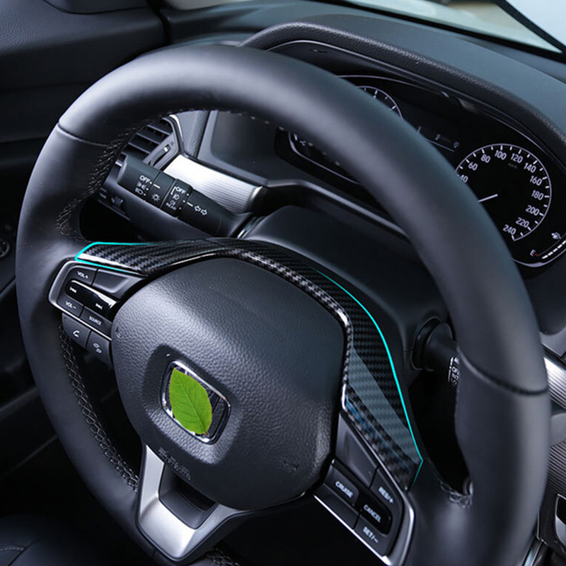 For Honda Insight 2018 2019 ABS Matte And Carbon Fibre Car