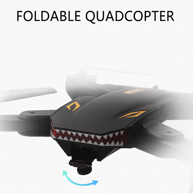 VISUO XS809S (XS809HW Upgraded) Foldable RC Drone with 720P Wide Angle HD Camera FPV Quadcopter One Key Return Mini Dron Drones