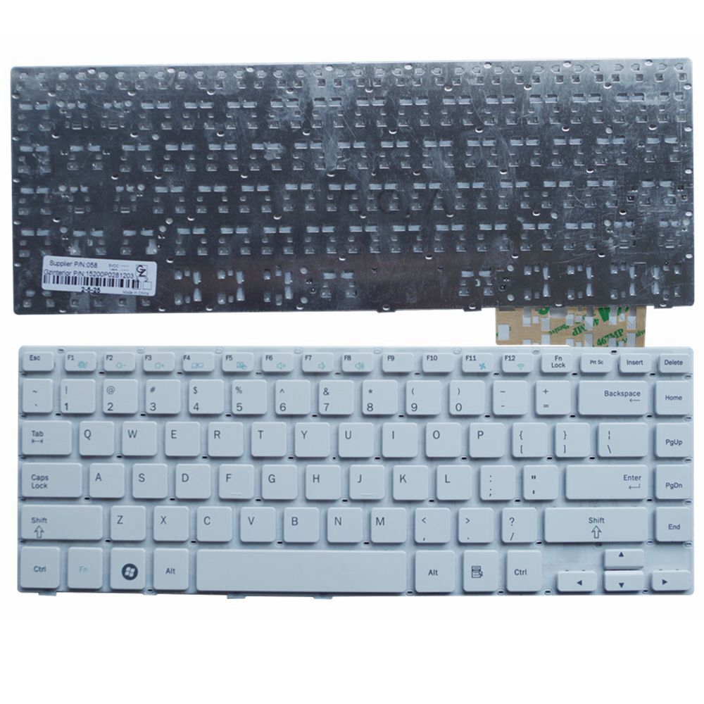 GZEELE NEW English Laptop <font><b>keyboard</b></font> for <font><b>Samsung</b></font> NP-370R4E 450R4V NP470R4E 530U4E 455R4J 450R4Q US version image