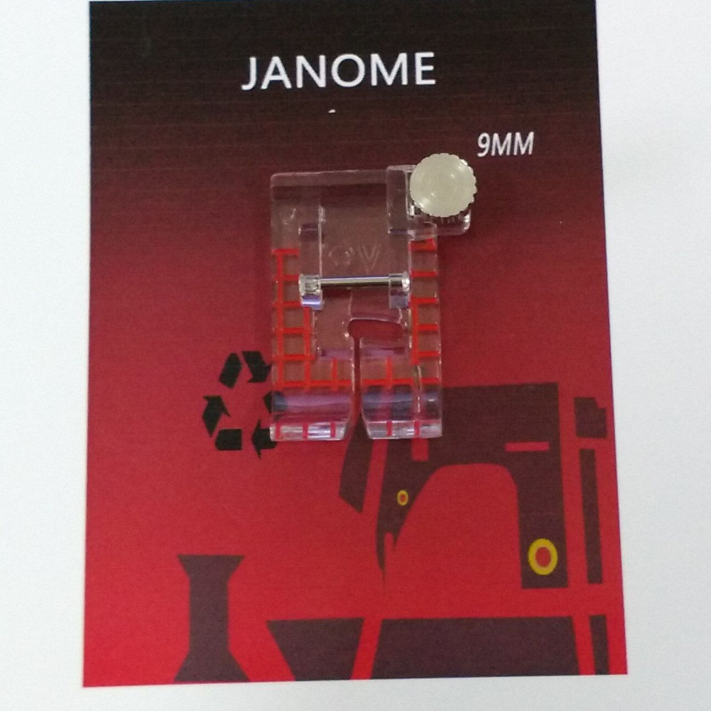 9MM Janome Clear View Quilting Foot  #7322PE-9