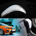Accessory ABS Chrome Gear Knob Shift Head Cover Trim Sticker Sequined  Decoration for 2005-2014 Focus Car Styling Covers