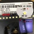 3535 6V холодный белый 200 шт./лот для LG SMD LED CHIP-2W для ТВ/LCD подсветки ТВ приложения