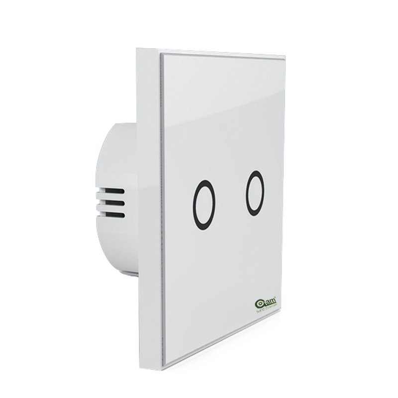 Z Wave Wall Light Switch 2 Gang Home Automation Z Wave