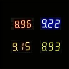 4 шт. DC 2,5-30 в светодиодный цифровой дисплей Панель вольтметр Электрический измеритель напряжения вольт тестер для авто автомобиля мотоцикла аккумуляторной тележки