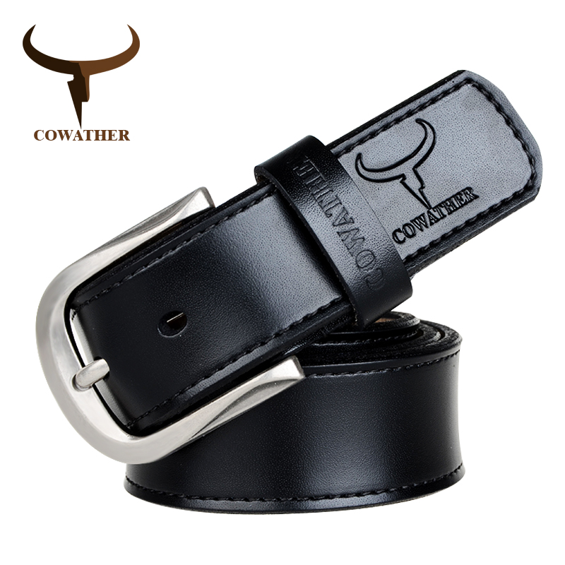 COWATHER cow genuine leather mens s