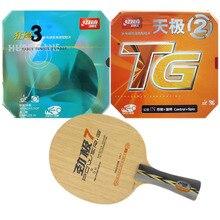 Pro Combo Racket DHS POWER. G7 PG7 PG.7 PG 7 met NEO TG2 en NEO Hurricane3 2015 Factory Direct Selling
