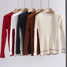 2019 Autumn Winter Thick Warm Women Sweater Knitted Femme Pull High Elasticity Soft Female Pullovers