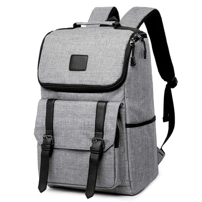 New 15.6 Inch Laptop Backpack Men Brand Casual Large Capacity Backpacks Travel School Bag Backpack For Teenagers Rucksack 2019