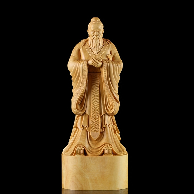 Yueqing boxwood carvings local cultural gifts to the teacher