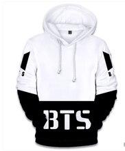 BTS Fashion 3D Hoodie