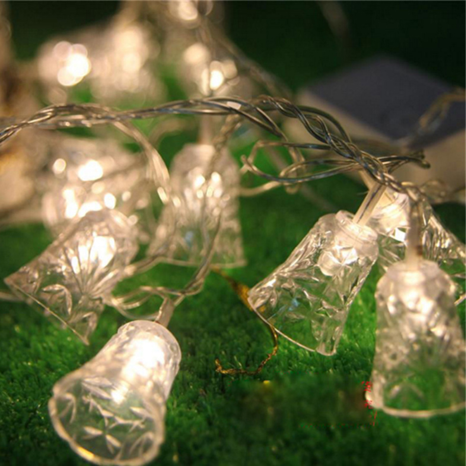 Christmas Bell Decorative LED string For Christmas,Home New Years Day,Festival Holiday party Light, string led fairy light
