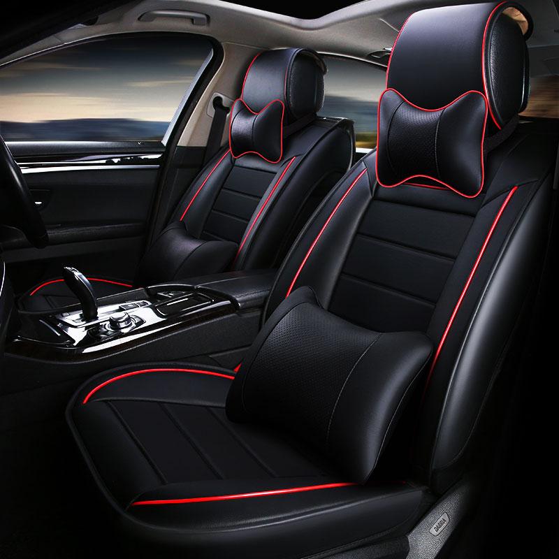 Sedili copertura seggiolino auto copre in pelle per volvo 850 s40 s60 s80 s80l v40 v50 v60 v70 xc60 xc70 xc90 2013 2012 2011 2010