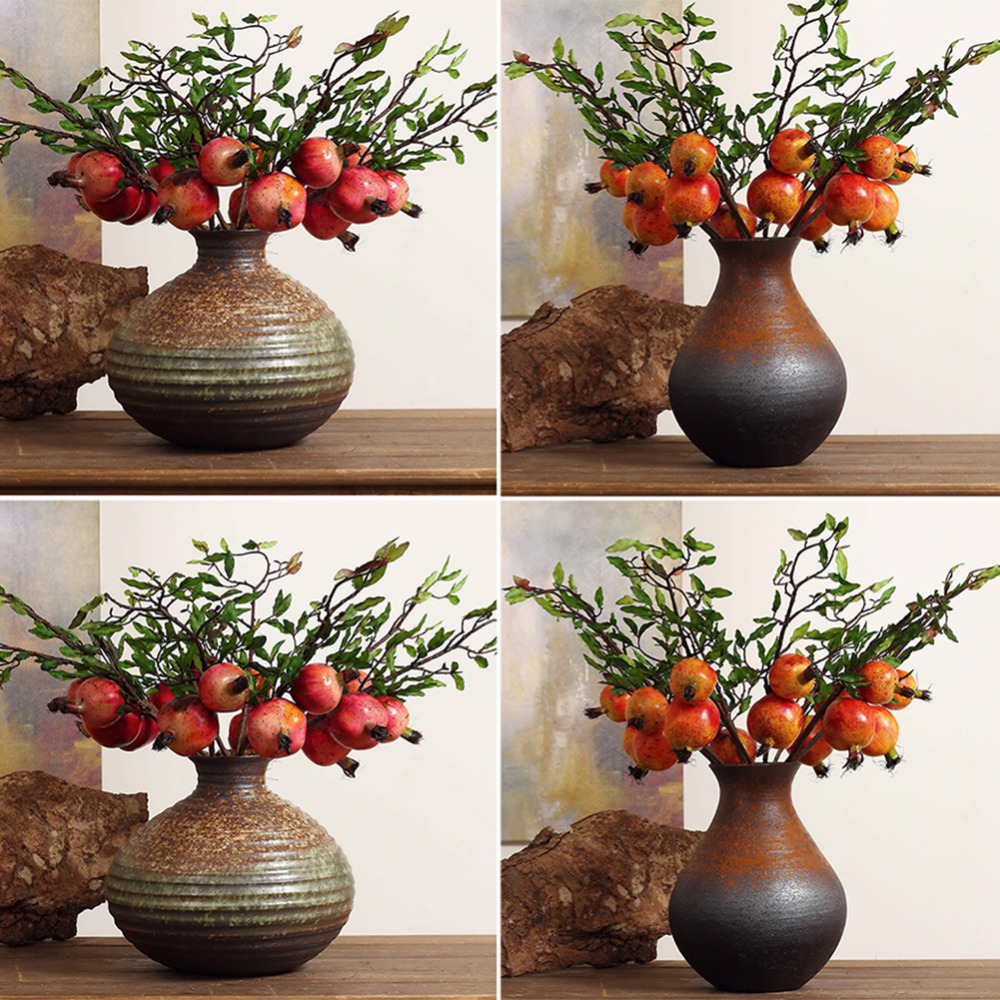 2017 new 1pcs vivid fruit artificial simulation fake for Artificial cherries decoration