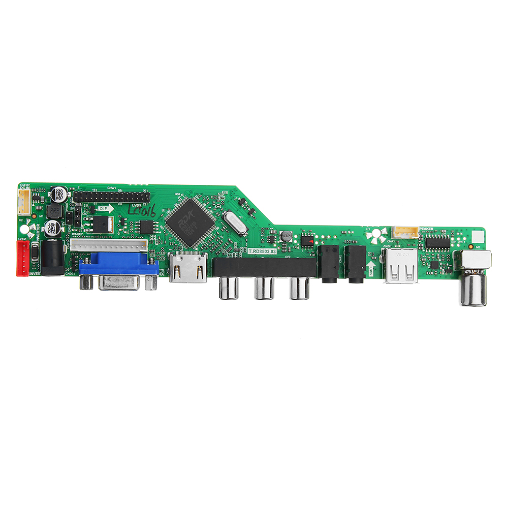 Image 4 - T.RD8503.03  Digital Signal DVB T2 DVB T/C Universal LED LCD TV Controller Driver Board + 7 Key Button + 1Ch 6bit 30pin-in Integrated Circuits from Electronic Components & Supplies