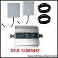Dcs 1800 мГц Ретранслятор полные комплекты с кабелем и антенн функция ЖК-дисплей DCS booster DCS ретранслятор dcs усилитель сигнала