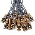 Комплект из 12 шт., имитация кости яка, резной Тотем из Новой Зеландии, мужской кулон, ожерелье, амулет MN413
