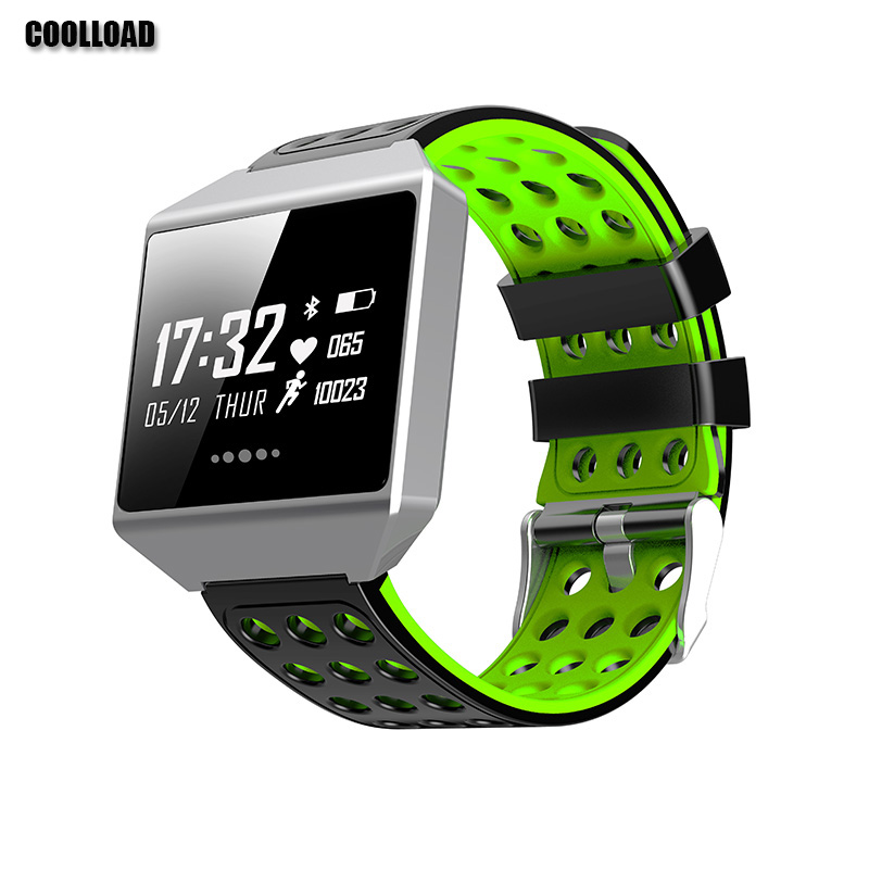COOLLOAD CK12 Fitness Tracker Blood Pressure For Android 4.4 and above iOS 8.2 and above Waterproof Smart Watch