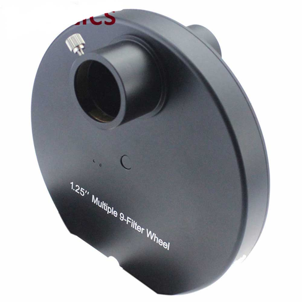 1.25Inch 9 Positions Manual Filter Wheel - deep space planetary telescope Whell Colour
