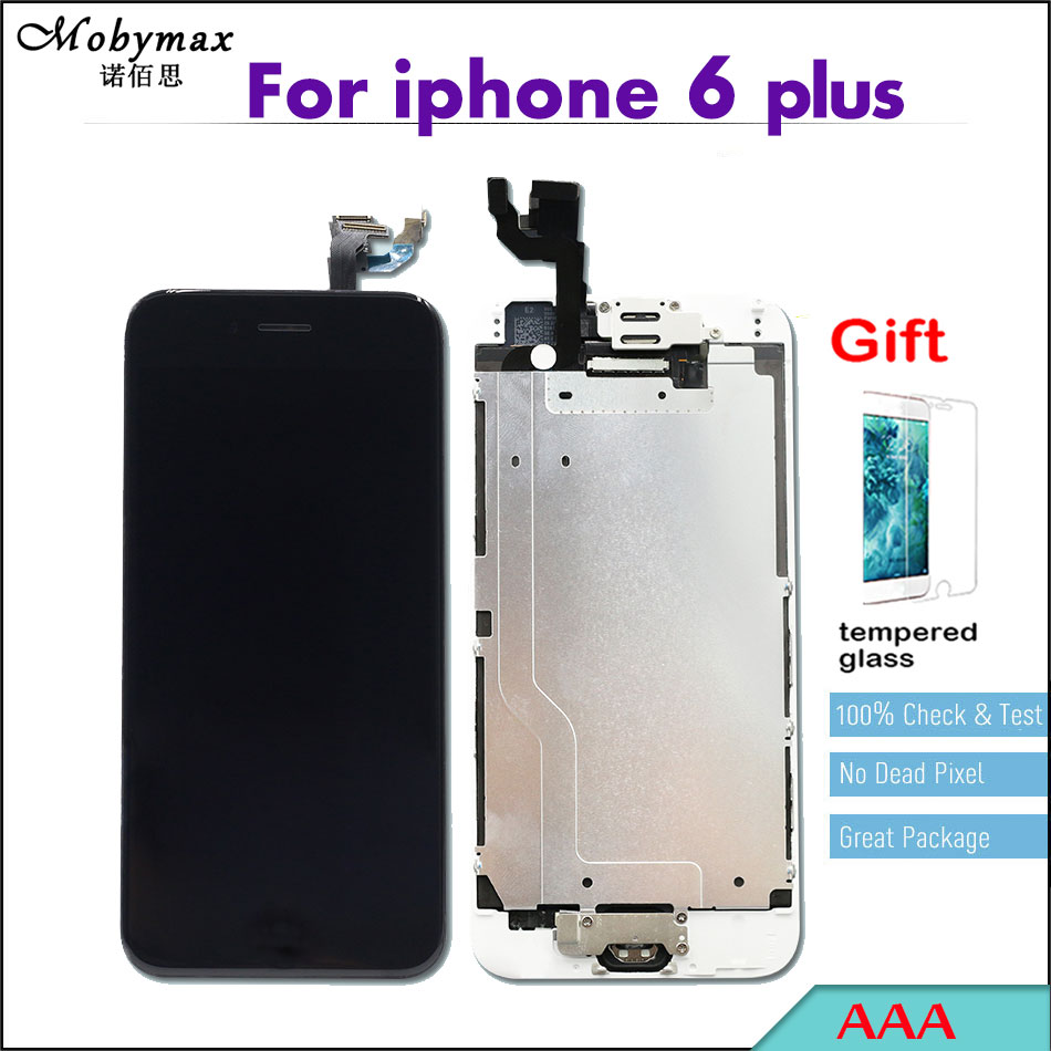 Full Assembly Pantalla For iPhone 6 plus A1522 A1524 A1593 Touch Screen Replacement Digitizer Display Home