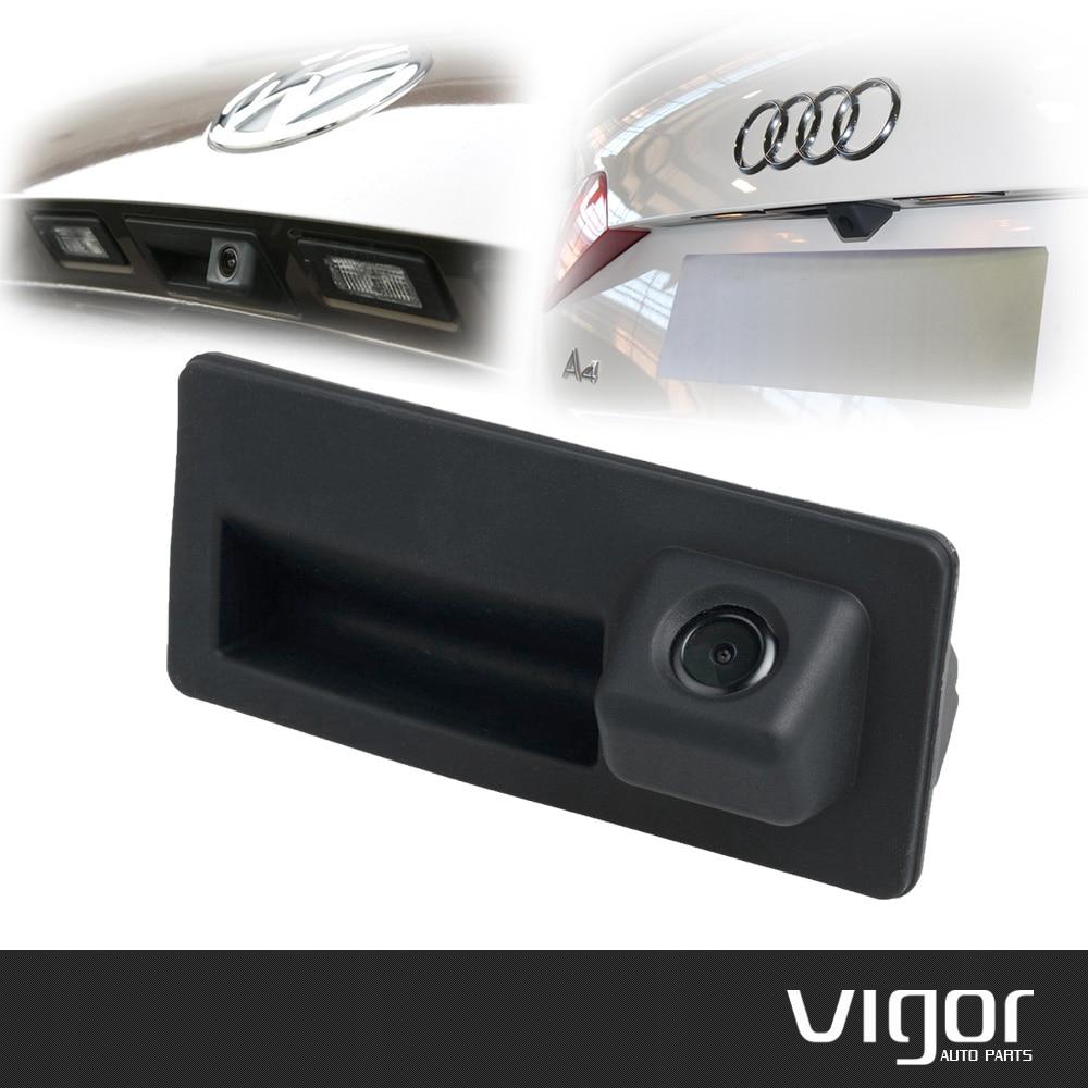 Car Trunk Handle Camera Rear View Hd Camera For Audi A4 A5