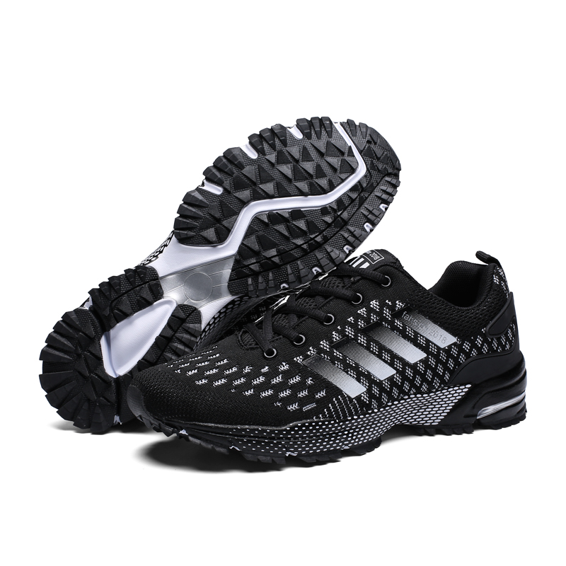 Heidsy Ultra Light Running Shoes For Men Sneakers Plus Size 39-47 Men Sport Shoes Outdoor Jogging Footwear Male Chaussure Homme onemix breathable mesh women sport sneakers chaussure running homme men jogging shoes comfortable men shoes sales size us 6 5 12