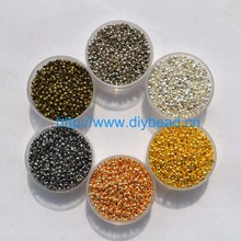цены 500pcs/lot jewelry findings and components 2MM Ball Plunger metal Accessory Smooth Ball Crimps Beads