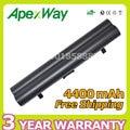 Apexway 4400 мАч аккумулятор для ноутбука Lenovo IdeaPad S10 S10e S12 S9 S9e Серии 51J039 45K127 45K1275 45K2177 L08S3B21 L08S6C21